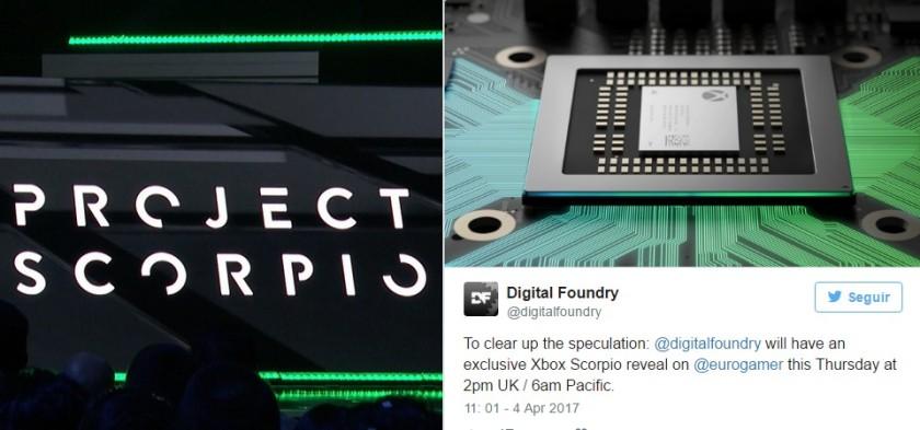 Project Scorpio será revelado amanhã pelo Digital Foundry