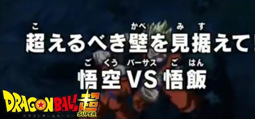 Dragon Ball Super - Goku Vs. Gohan no Preview do Episódio 90