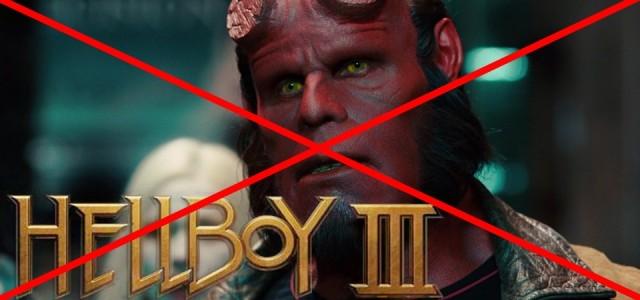 Hellboy Reboot toma o lugar de Hellboy 3