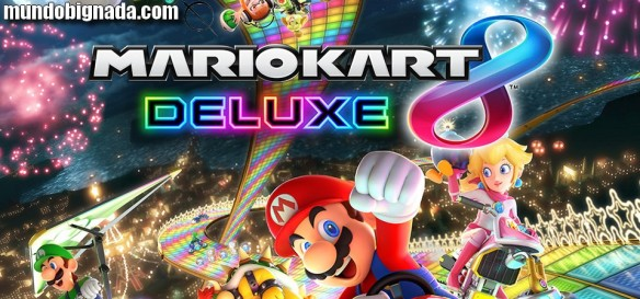 Mario Kart 8 Deluxe - Crítica do Mundo Bignada