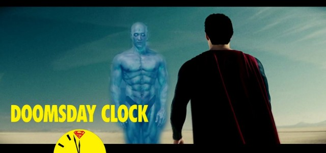 Superman Vs. Dr. Manhattan em Doomsday Clock nos quadrinhos