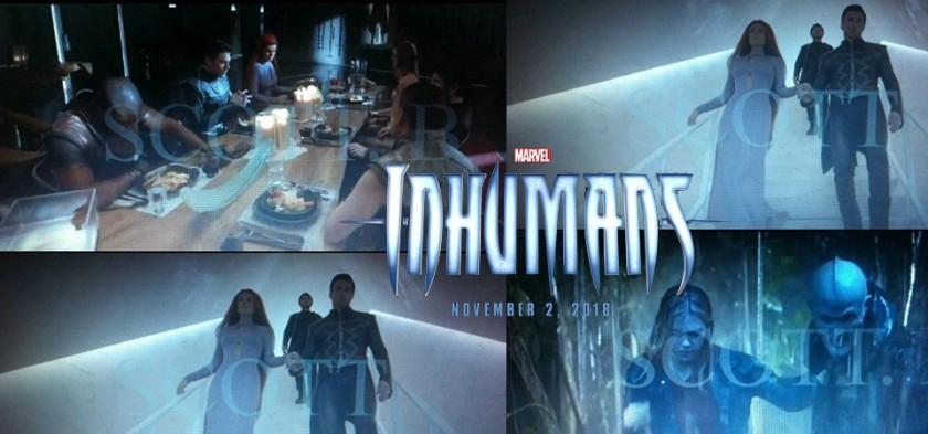 Vazam imagens do trailer da série dos Inumanos
