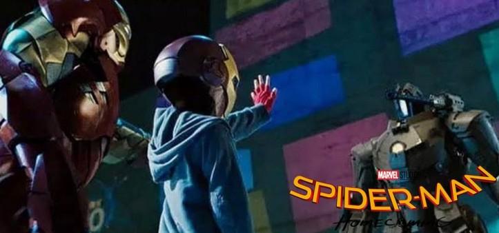 A primeira aparição de Peter Parker foi em Homem de Ferro 2