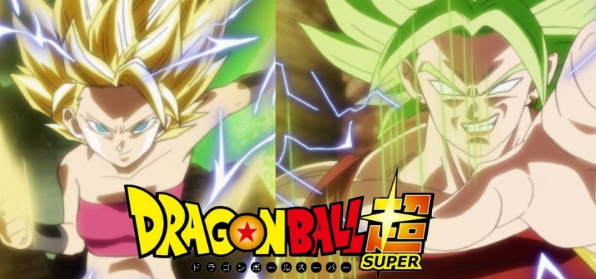 Dragon Ball Super - Caulifla Super Sayajin 2 e Kale Legendary Super Sayajin no episódio 93 do anime