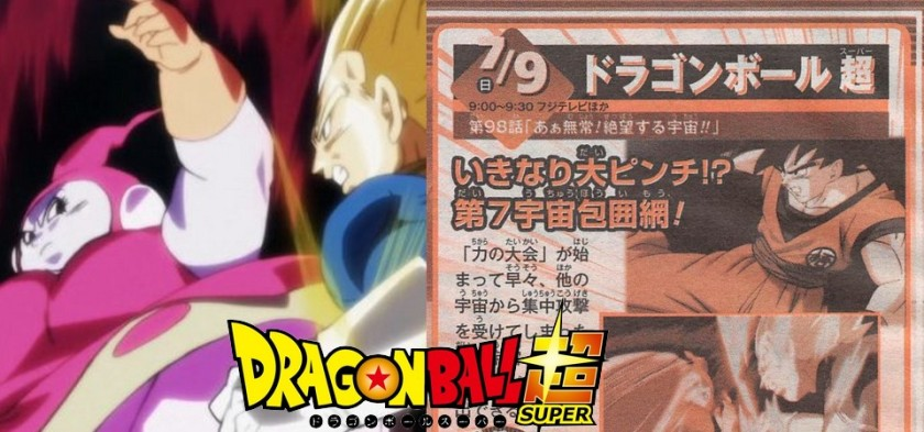 Dragon Ball Super - Preview da Weekly Shonen Jump do episódio 98