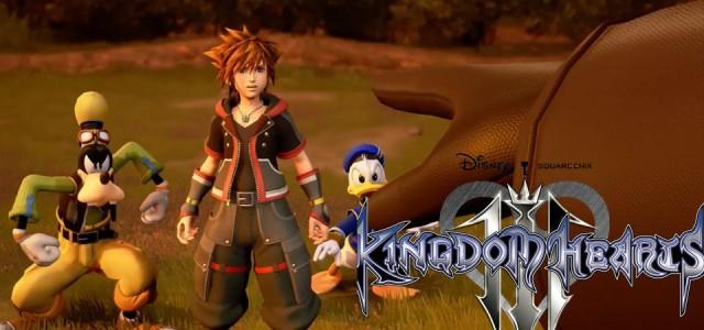 Kingdom Hearts III - Novo Trailer 2017