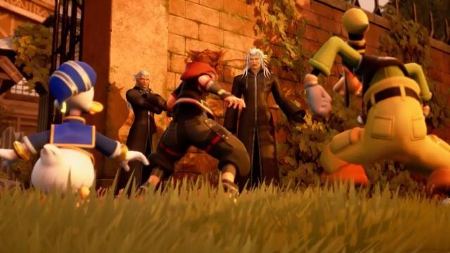 Kingdom Hearts III - Sora, Donald e Pateta