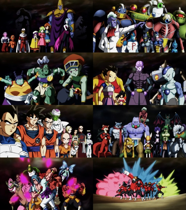 Os Oito Universos do Torneio do Poder (Dragon Ball Super)