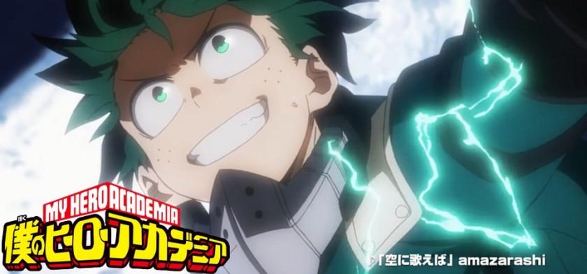 Preview da Opening 2 e Novo Arco de Boku no Hero Academia 2