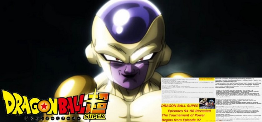 Vazam sinopses dos episódios 94, 95, 96, 97 e 98 de Dragon Ball Super