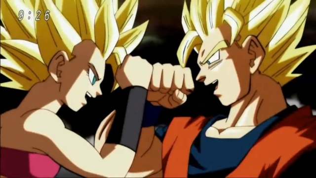Caulifla Vs. Goku (Dragon Ball Super - Episódio 100)