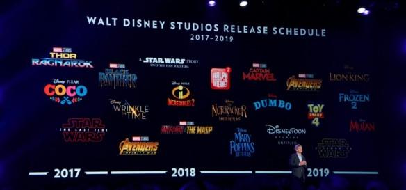 Disney libera cronograma de 2017-2019 de filmes na D23 Expo