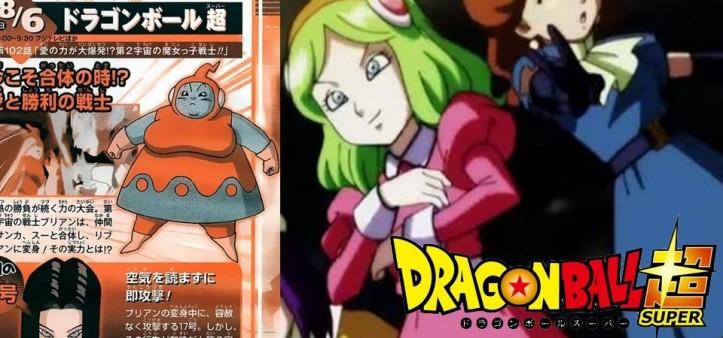 Dragon Ball Super - Preview da Weekly Shonen Jump do episódio 102