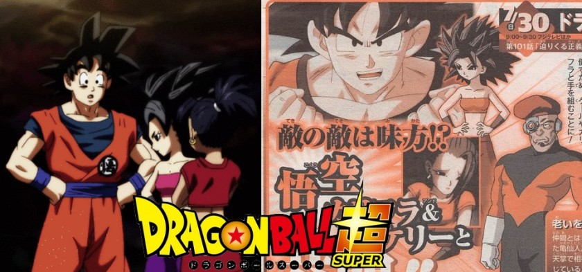 Dragon Ball Super - Weekly Jump libera preview do Episódio 101