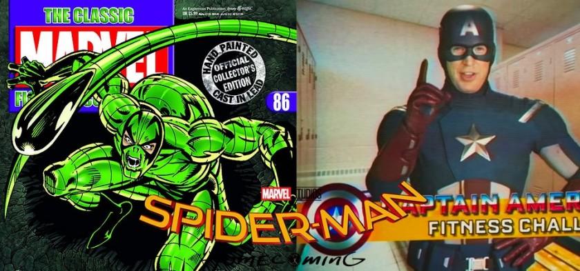 Escorpião, Capitão América e as Cenas Pós-Créditos de Homem-Aranha - De Volta ao Lar