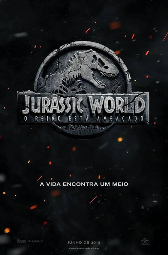 Jurassic World - O Reino está Ameaçado - Poster