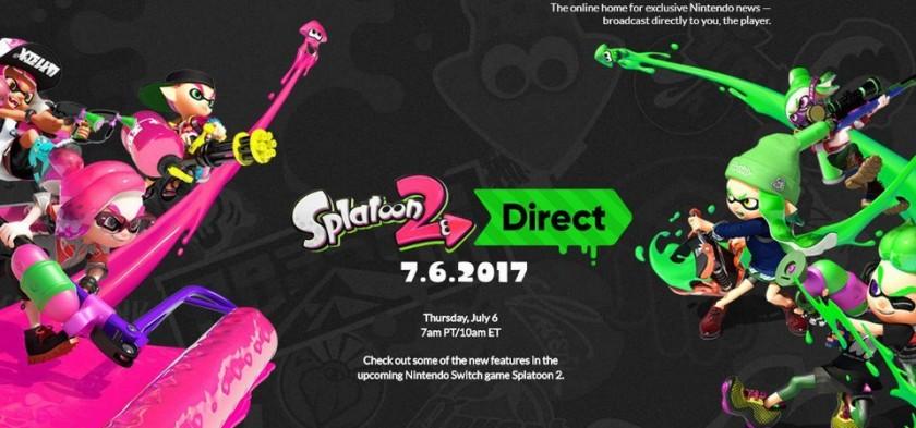 Splatoon 2 Direct 06 07 2017