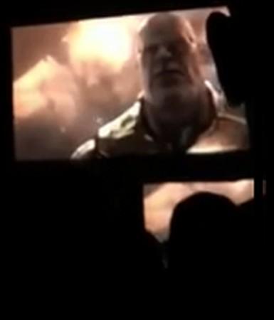 Thanos em trailer vazado de Vingadores - Guerra Infinita