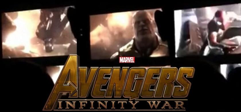Vaza 15 segundos do trailer de Vingadores - Guerra Infinita