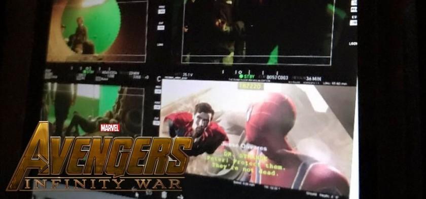 Vaza cena do Doutor Estranho e Homem-Aranha com spoiler de Vingadores - Guerra Infinita