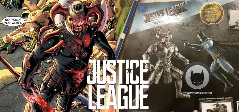 Vaza visual do Lobo da Estepe, Vilão de Liga da Justiça