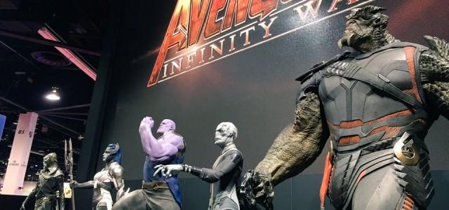 Vingadores - Guerra Infinita - Descrição do Trailer, Poster e Estátuas na D23 Expo