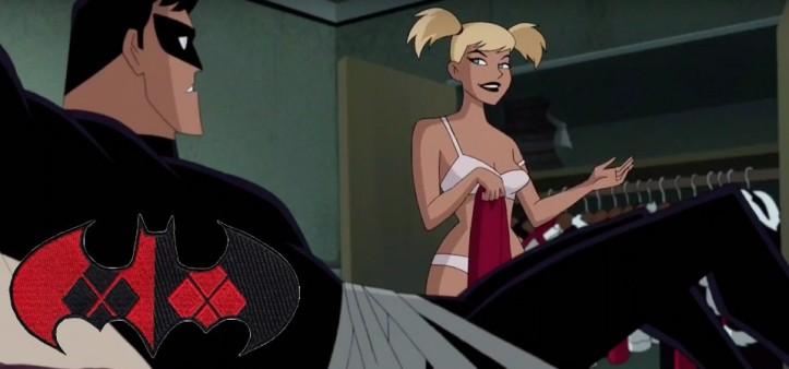 Cena de sexo entre Asa Noturna e Harlequina causa polêmica (Batman & Harlequina)