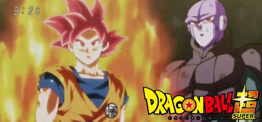 Dragon Ball Super - Goku SSJ God e Hitto no Preview do Episódio 104