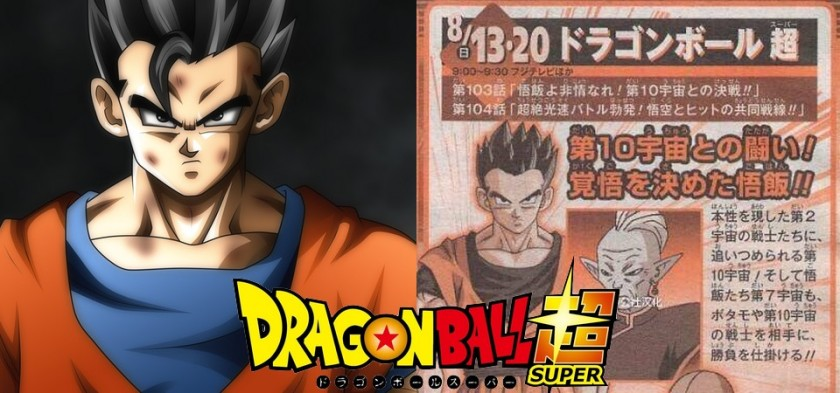 Dragon Ball Super - Preview da Weekly Shonen Jump do episódio 103