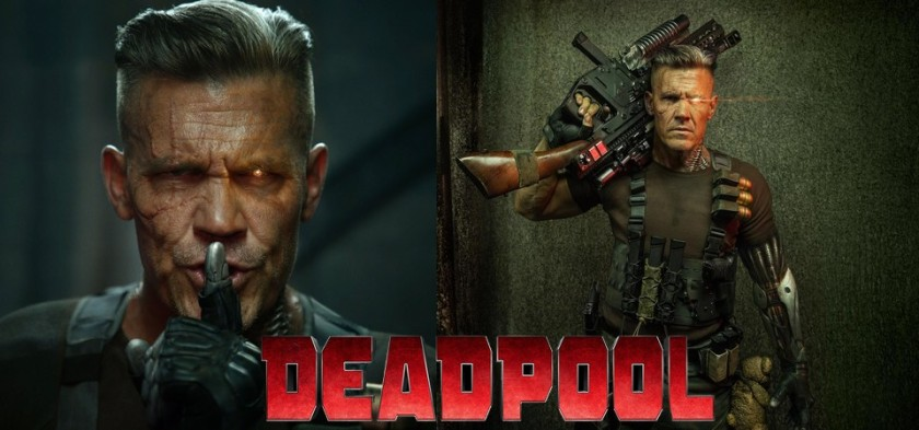 Reveladas as primeiras fotos oficiais do Cable em Deadpool 2