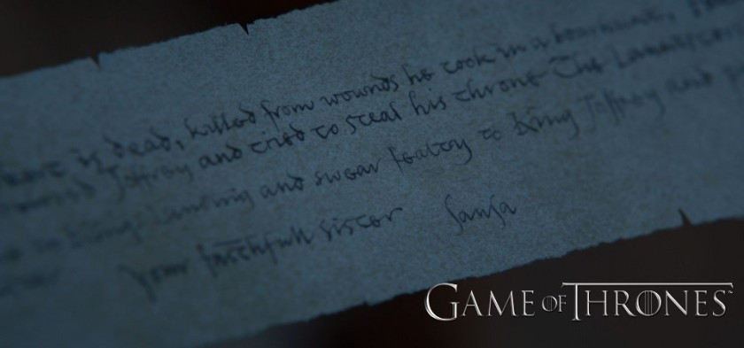 Revelado texto da carta do Mindinho (Game of Thrones - S07E05)