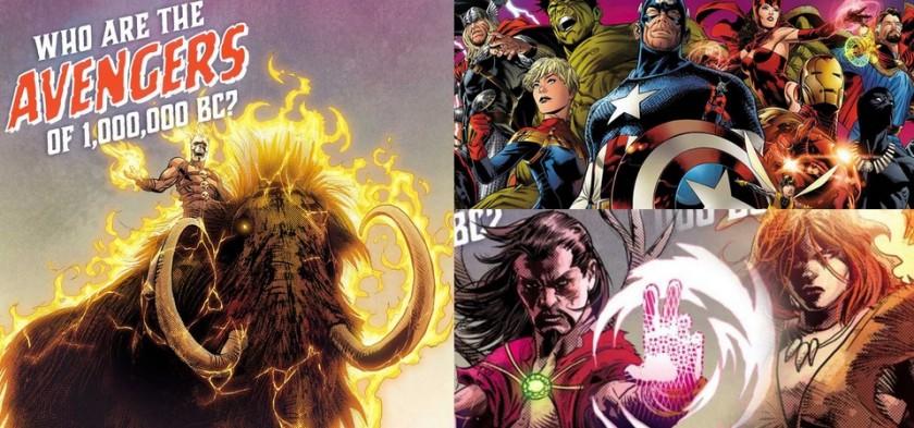 Revelados os Vingadores 1.000.000 A.C. em Marvel Legacy