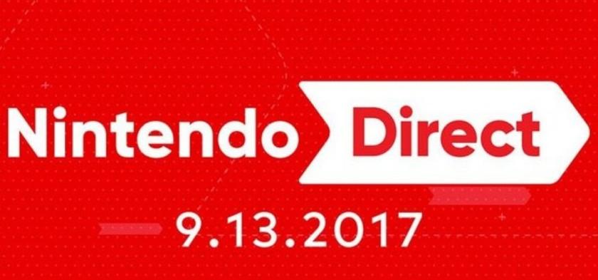 Anunciado Nintendo Direct para dia 13 - 09 - 2017