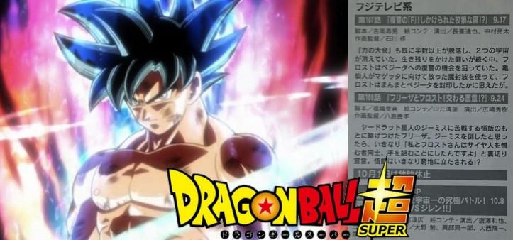 Dragon Ball Super - Animage solta spoilers dos episódios 107, 108, 109 e 110