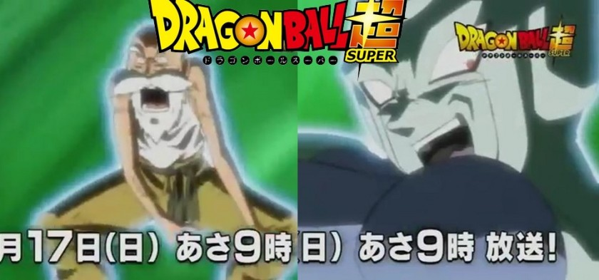 Dragon Ball Super - Mestre Kame Vs. Frost no Preview do Episódio 107 do anime