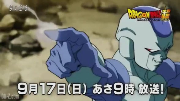 Frost no Preview do Episódio 107 de Dragon Ball Super