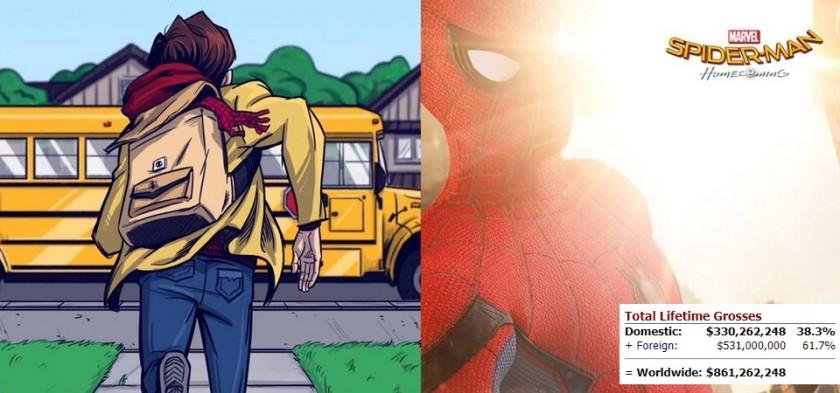 Homem-Aranha - De Volta ao Lar está próximo de se tornar a maior bilheteria de super-herói do ano