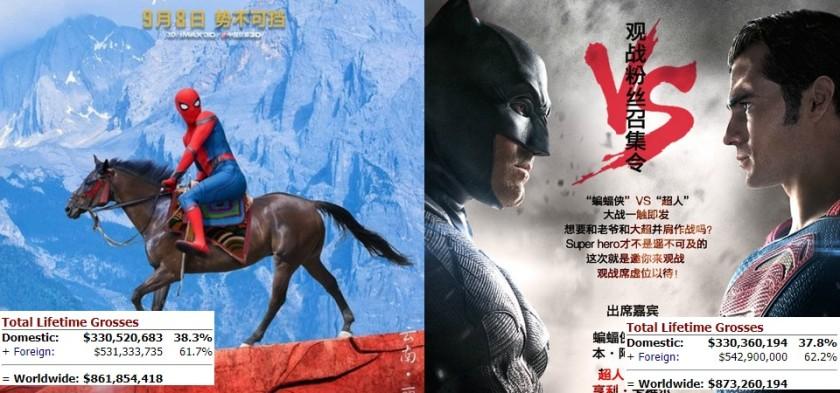 Homem-Aranha - De Volta ao Lar supera bilheteria doméstica de Batman Vs. Superman - A Origem da Justiça