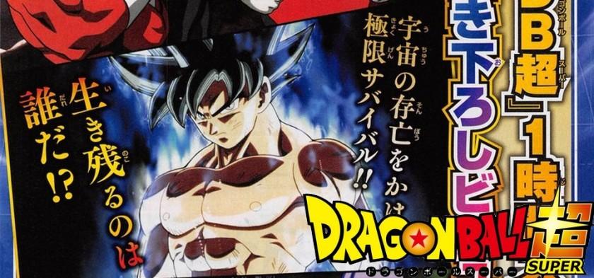 Preview da Weekly Shonen Jump do Especial de 1 hora e Nova Ending Anunciada de Dragon Ball Super