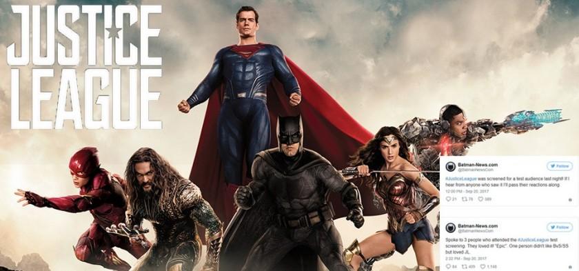 Primeiras Reações de Liga da Justiça - O Filme são positivas