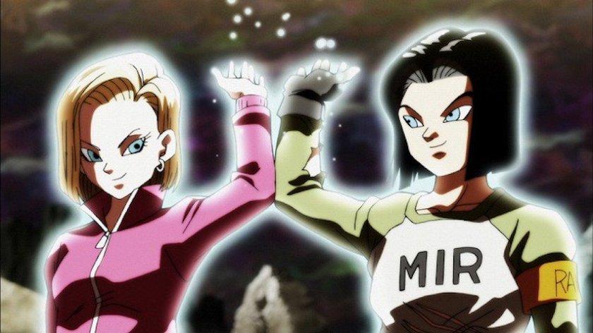 Andróides 17 e 18 ajudam Genki Dama (Dragon Ball Super - Episódios 109-110)
