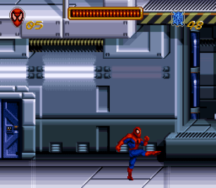 Spider-Man The Animated Series Snes