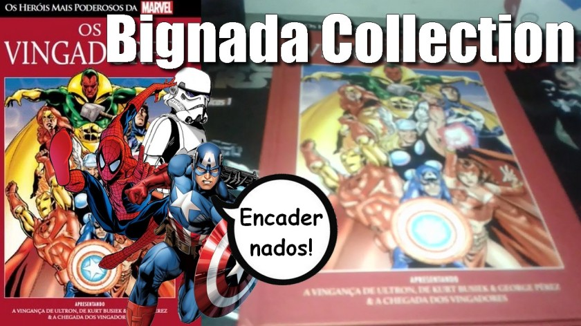 BIGNADA COLLECTION - Encadernados (Panini, Salvat, Planeta Deagostini e Abril)