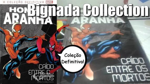 Bignada Collection - Homem-Aranha - Caído entre os Mortos (Salvat) - Ed. 1 da Coleção Definitiva do Homem-Aranha