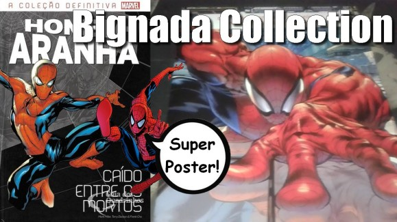 Bignada Collection - Poster da Ed. 1 de Homem-Aranha - Coleção Definitiva (Salvat)