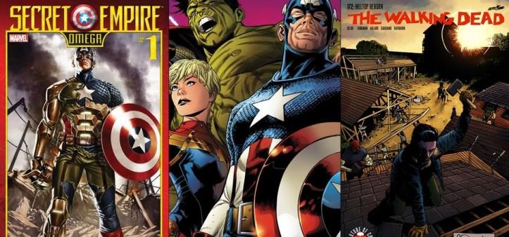Destaques do Porco-Aranha #4 - Império Secreto Omega, Legado Marvel e The Walking Dead