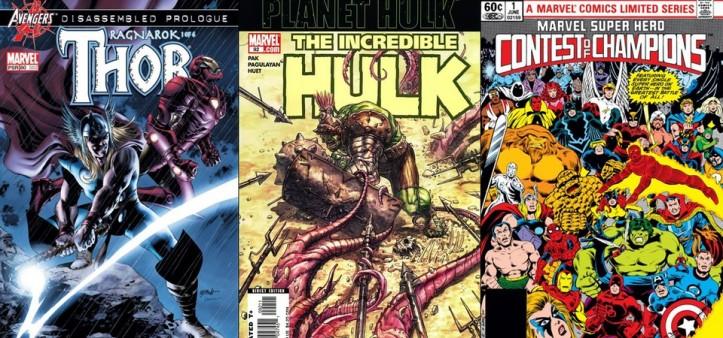 Destaques do Porco Asgardiano #1 - Thor Ragnarok, Planeta Hulk e Torneio dos Campeões