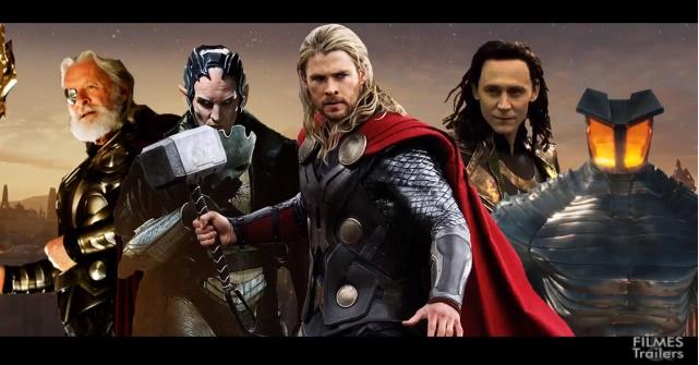 GagaCast 10 - Thor no mundo da luz e no sombrio - Filmes & Trailers