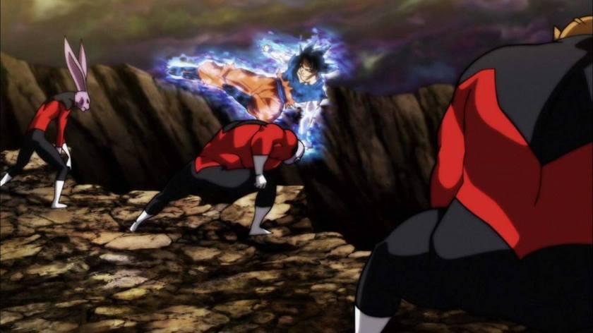 Goku SSJ Limit Break Vs. Pride Troopers (Dragon Ball Super - Episódios 109 e 110)