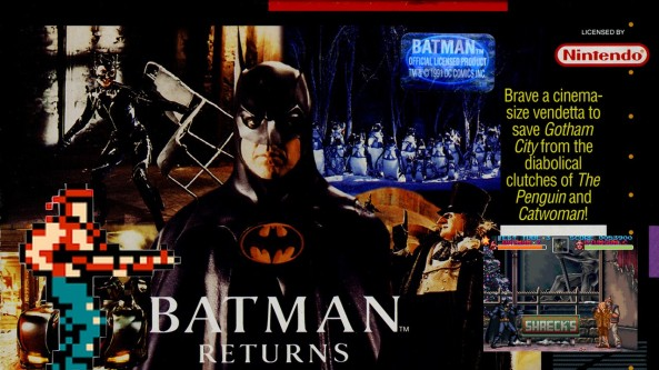 Joga Bignada - Batman Returns (SNES) - O Super Contra do Batman